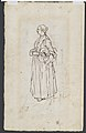 A Woman Spinning (recto); A Woman Holding a Bundle (verso) MET DP103059.jpg