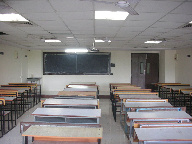 File:A classroom in Parshvanath College of Engineering.jpg