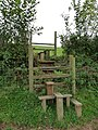 A double stile near Bradninch Cross - geograph.org.uk - 1519066.jpg