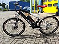 A mountain bike styled e-bike, Cyclotricity Stealth.jpg