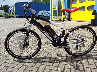 Electric bicycle - A mountain bike styled e-bike: a Cyclotricity Stealth