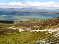 A steady stream of walkers on the dog leg section on the Croagh Patrick path - geograph.org.uk - 2521512.jpg