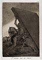A winged devil figure riding on a cat awakening some monks b Wellcome V0025834.jpg