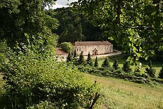 Valliscaulian Order abbey located in Côte-dOr, in France