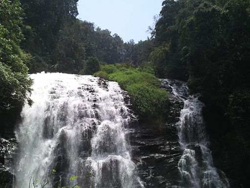 Abbey falls,coorg
