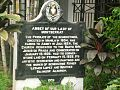 Abbey of Our Lady of Montserrat Historical marker.jpg