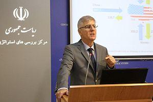 Behrooz Abdolvand - Abdolvand in the Center for Strategic Studies