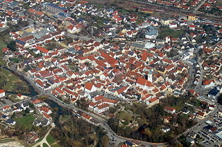 Abensberg Place in Bavaria, Germany
