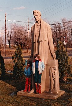 Abraham Lincoln Monument, Ypsilanti, MI, USA.jpeg