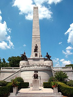 Lincoln Tomb United States historic place in Springfield, Illinois