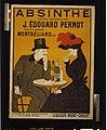 Absinthe extra-supérieure J. Édouard Pernot. Société Anonyme Montbéliard (Doubs) Liqueur Mont-Christ - - L. Cappiello. LCCN2004666053.jpg