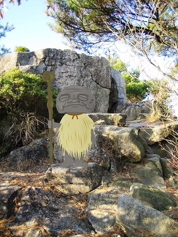 Abura sumashi, legendary creature of Japan