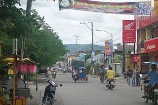 Abuyog Municipality in Eastern Visayas, Philippines