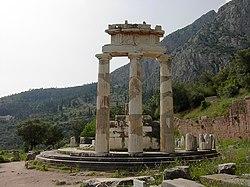 Tholos, en Delfos.
