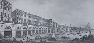 1772 in architecture - Adelphi Buildings, London