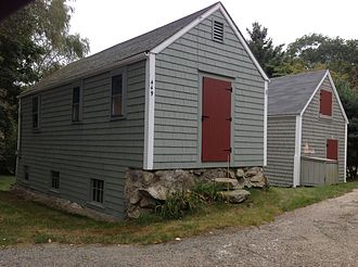 Adams-Crocker-Fish House - Other buildings on the property