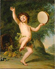 Cupid as Bacchus