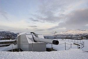 40.6 cm SK C/34 gun - Adolf Gun at Trondenes near Harstad, Norway (2007)