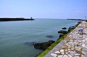 Adour-Mündung