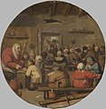 Adriaen Brouwer - Interior of a School Inv1694.jpg