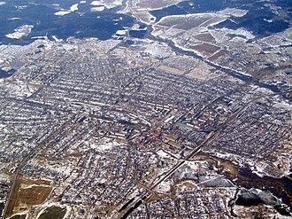 Teykovo - Aerial view of Teykovo