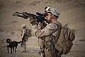 Afghan National Security Forces alongside Marines with 2-8 conduct Operation Nightmare (Image 9 of 50) (9034286194).jpg