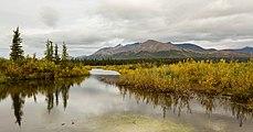 Afluente del río Nenana, McKinley Park, Alaska, Estados Unidos, 2017-08-31, DD 06.jpg