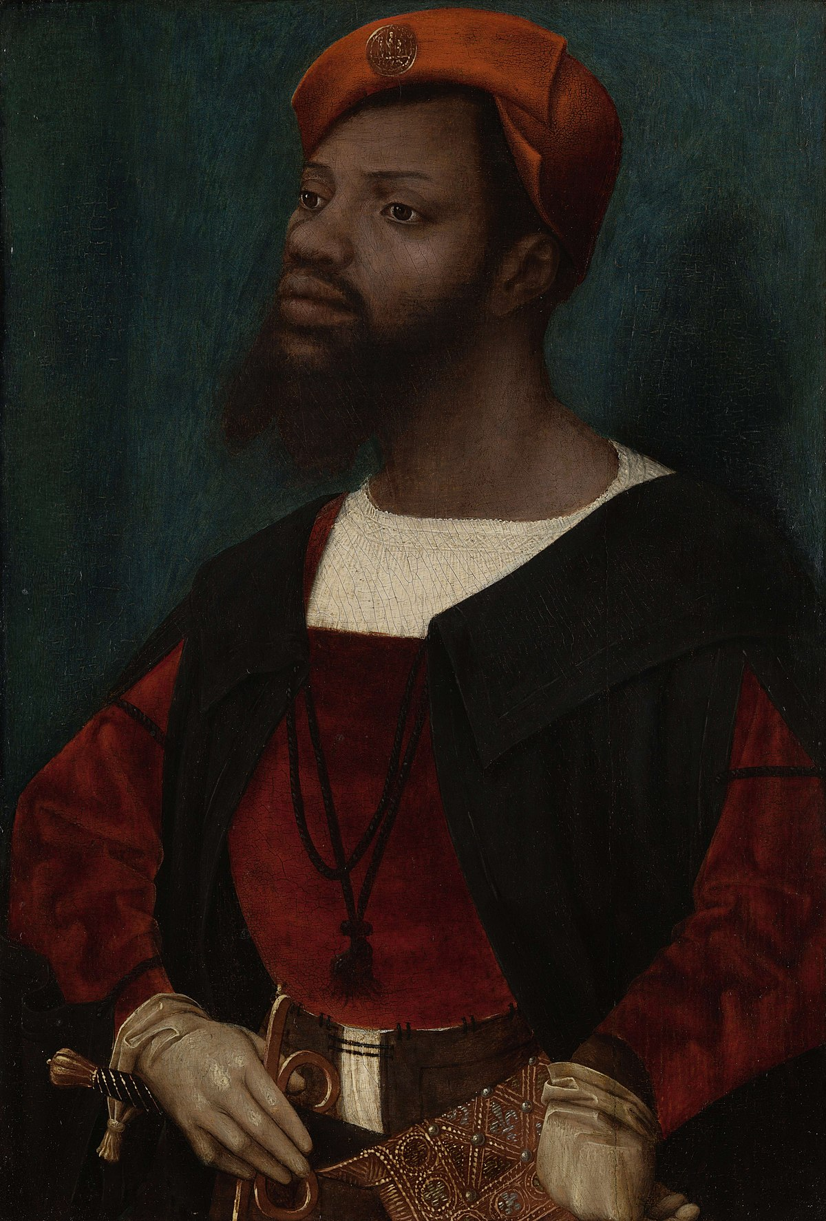 Portrait of an African Man - Wikipedia