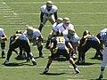 Aggies on offense at UC Davis at Cal 2010-09-04 2.JPG