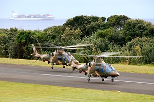 Agusta A109 4018 + 4023 South Africa - Airforce.jpg