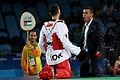 Ahmad Abughaush, 2016 Summer Olympics in Rio de Janeiro, men's 69 kg,.jpg