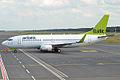 Air Baltic, YL-BBX, Boeing 737-36Q (16430158346).jpg