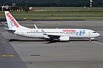 Air Europa, EC-LVR, Boeing 737-85P (28178352560).jpg