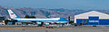 Air Force One arrives at Moffett Federal Airfield, Calif., June 6, 2013 130606-Z-HW473-003.jpg