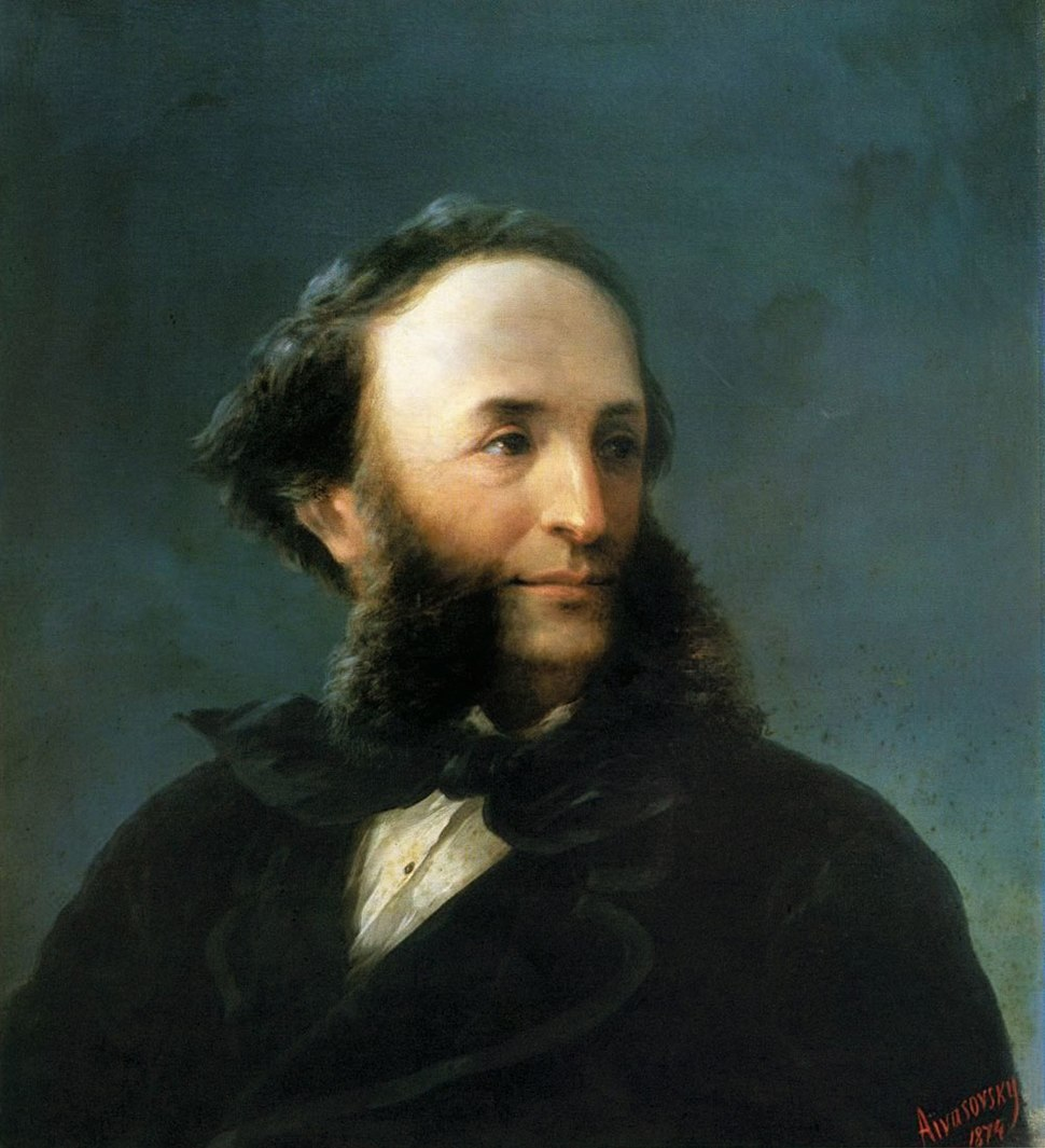 Aivazovsky - Self-portrait 1874