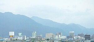 Aizuwakamatsu - Aizuwakamatsu skyline