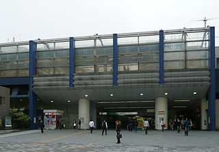 Akabane Station Railway station in Tokyo, Japan