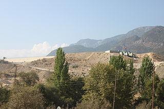 Alaköprü Dam Dam in Anamur, Mersin Province