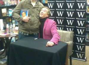 Alan Partridge - Coogan in character as Alan Partridge at a book-signing event in 2011