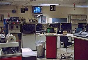 UNIVAC 1100/2200 series - UNIVAC 1100/80 Operations Room at University at Albany - SUNY, Albany, New York, 1981