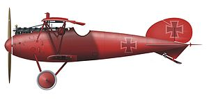 Jagdstaffel 11 - Albatros D.V. (von Richthofen)