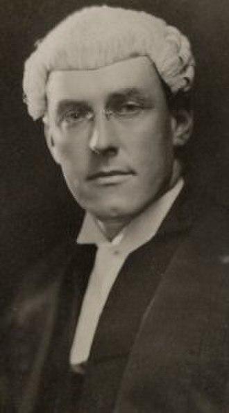 Tasmanian state election, 1937 - Image: Albert Ogilvie