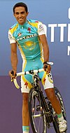 Alberto Contador Tour 2010 team presentation.jpg
