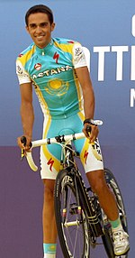 Alberto Contador. The Astana team was not invited to ... 22d6f91c5