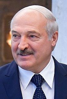 Alexander Lukashenko President of Belarus