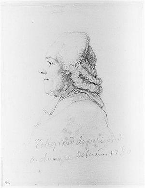 Alexandre Angélique de Talleyrand-Périgord - Portrait of Alexandre Angélique de Talleyrand-Périgord by Pierre-Simon-Benjamin Duvivier
