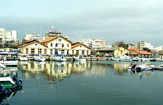 Alexandroupoli - Customs building at the port