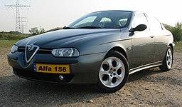 Autopotahy Alfa Romeo 156