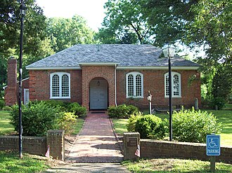 National Register of Historic Places listings in Anne Arundel County, Maryland - Image: All Hallows Church Jul 09