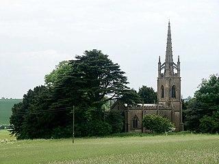 Haugham village in the United Kingdom